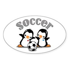 I Like Soccer (4) Decal
