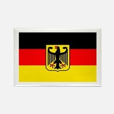 Deutschland German Flag Rectangle Magnet