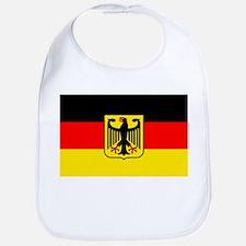 Deutschland German Flag Bib