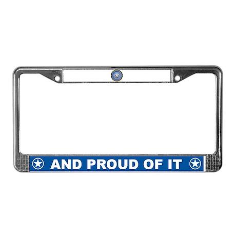 Air Force Niece License Plate Frame