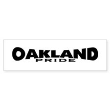Oakland Pride Light (www.repo Bumper Sticker