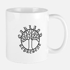 Represent Oakland Tree Light Mug