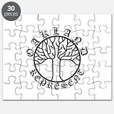 Represent Oakland Tree Light Puzzle