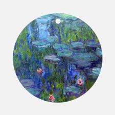 Monet - Water Lilies Ornament (Round)