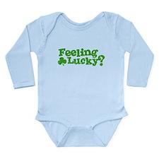 Celtic Love Knot Long Sleeve Infant Bodysuit