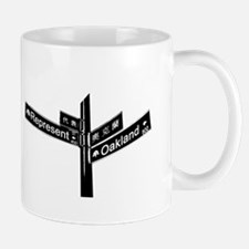 Corner of Represent and Oakla Mug