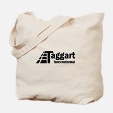 Taggart Transcontinental Blac Tote Bag