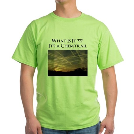 No Geoengineering Please Green T-Shirt