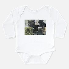 Cats Long Sleeve Infant Bodysuit