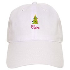 Christmas Tree Elaine Baseball Cap