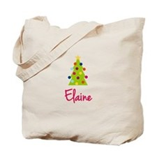 Christmas Tree Elaine Tote Bag