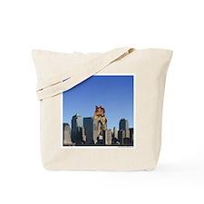 Killer Squirrel Tote Bag