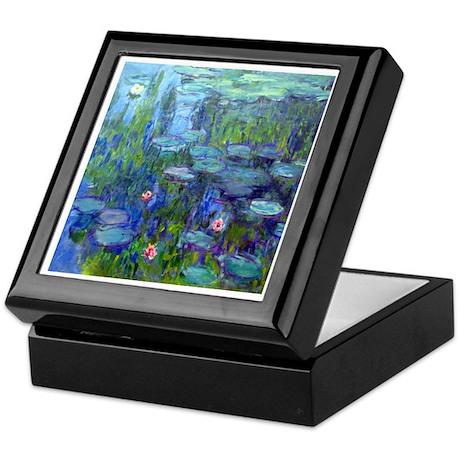 Monet - Water Lilies Keepsake Box
