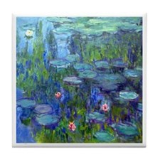 Monet - Water Lilies Tile Coaster