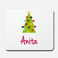 Christmas Tree Anita Mousepad