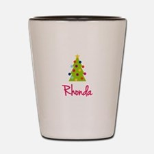 Christmas Tree Rhonda Shot Glass