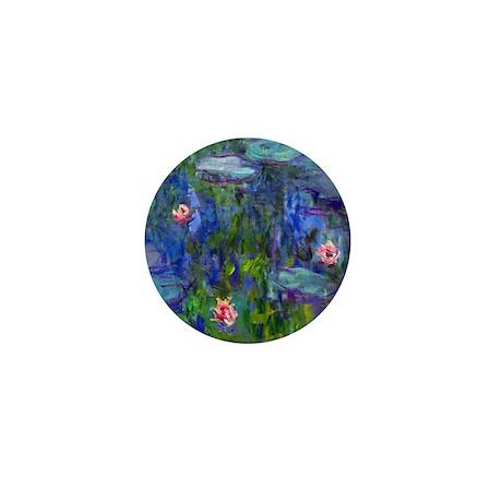 Monet - Water Lilies Mini Button