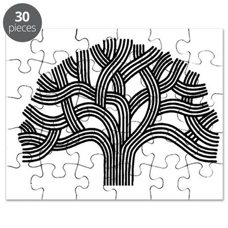 oakland tree light puzzle by repoakland. Black Bedroom Furniture Sets. Home Design Ideas