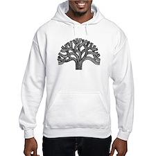 Oakland Tree (light) Hoodie