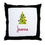 Christmas Tree Joanne Throw Pillow