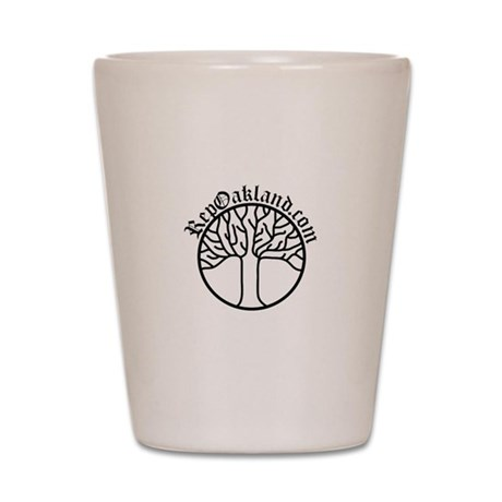 RepOakland.com Tree light (ww Shot Glass