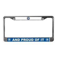 Air Force Fiance License Plate Frame