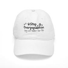Stop Overpopulation - Spay Neuter Baseball Cap