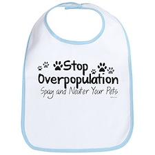 Stop Overpopulation - Spay Neuter Bib