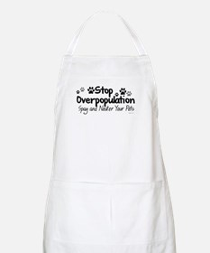 Stop Overpopulation - Spay Neuter BBQ Apron