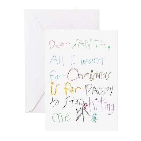 Dear Santa Greeting Cards (Pk of 10)