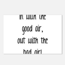 Good Air Postcards (Package of 8)