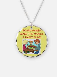 board games Necklace