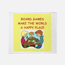 board games Throw Blanket