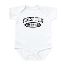 Forest Hills Washington DC Infant Bodysuit