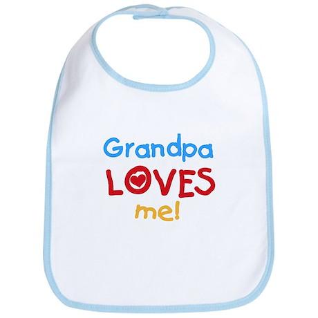 Grandpa Loves Me Bib