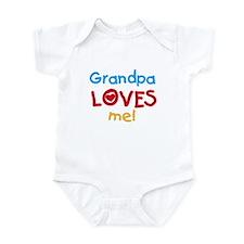 Grandpa Loves Me Infant Creeper