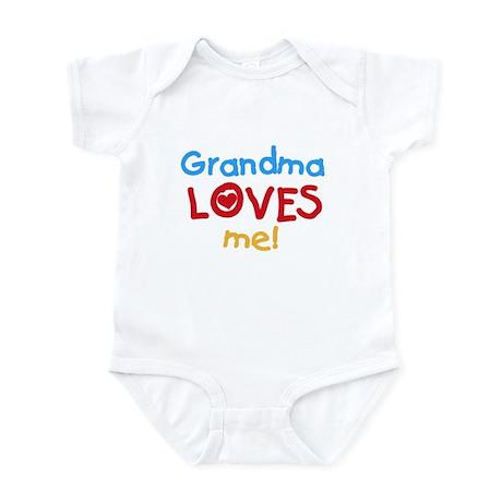 Grandma Loves Me Infant Creeper