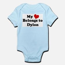 My Heart: Dylon Infant Creeper