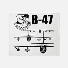 SAC B-47 Throw Blanket