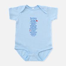 Secretary Thank You Infant Bodysuit