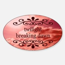 Twilight Breaking Dawn Orname Decal