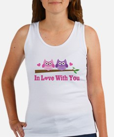 Owl In Love With You Women's Tank Top