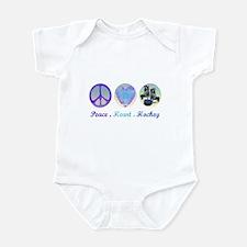 Cute Hockey theme Infant Bodysuit