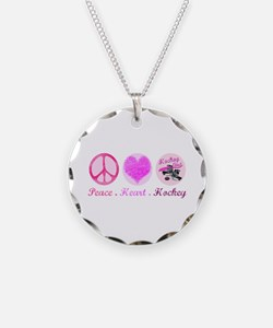 Cute Hockey rules Necklace
