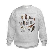 Owls of North America Sweatshirt