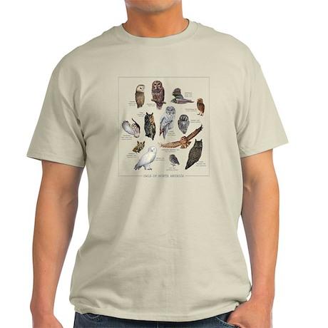 Owls of North America Light T-Shirt