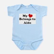 My Heart: Aldo Infant Creeper