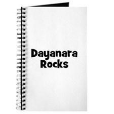 Dayanara Rocks Journal
