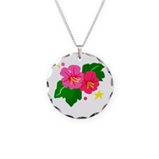 Tropical Flowers Necklace