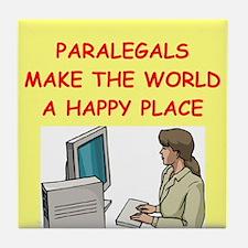 paralegal Tile Coaster